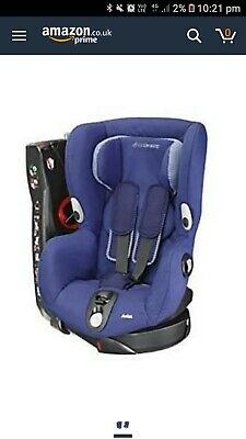 Maxi Cosi Axis Car Seat CoverBlueGood clean condition.