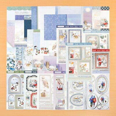 NEW !! Hunkydory A Wonderful Wintertime Topper Collection RRP £29.99 & Free Gift
