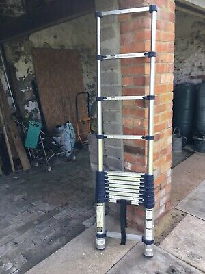 3m Telescopic Aluminium Ladder