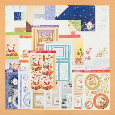NEW !! Hunkydory Festive Friends Topper Collection RRP £29.99 & Free Gift