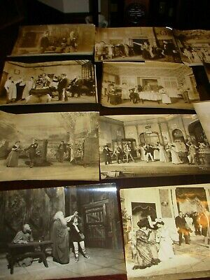Huge Lot Antique Theater Still Scene Photographs by Bryon, White, Hall & Moffett
