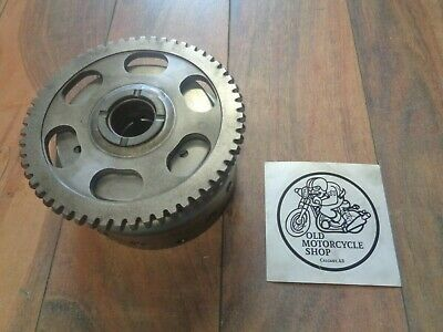 1981 Yamaha Sr185 Generator Rotor With Starter Clutch Assembly