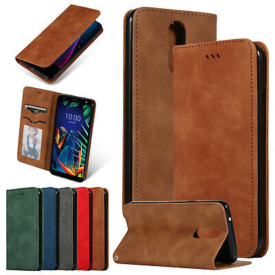 FOR LG STYLO 4 / Plus Phone Leather Wallet Case Cover