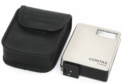 Contax TLA 140  Flash nearly Mint condition with soft case for G1 G2