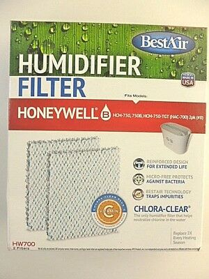 Best Air Honeywell HW700 Humidifier Wick Filter Replacements