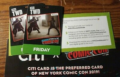 New York Comic Con (NYCC) October 4th 2019 FRIDAY Adult Badge (Pick Up Anytime)
