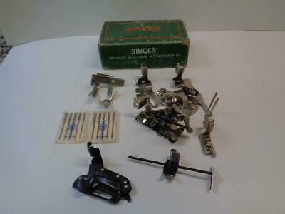 Singer Sewing Machine Attachments 160809 in orginal box USA Plus 2 pack needles