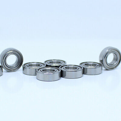 S63800-2RS Ceramic Stainless Premium ABEC-5 Bearing 10x19x7 Miniature Ball 14095