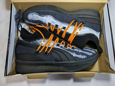 new product 4e9f0 91ec5 PUMA CLYDE COURT Disrupt X-Ray Halloween Black Orange ...