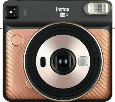 BRAND NEW Fujifilm instax SQUARE SQ6 Instant Camera (Blush Gold) SHIPS FAST