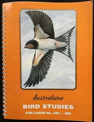 AUSTRALIANA BIRD STUDIES - Book of Cards 385-480, Complete, Tuckfields, Undated