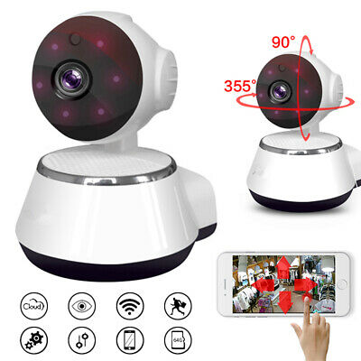 720P HD Wireless IP Security Camera Indoor CCTV Home Smart Wifi IR Baby Monitor