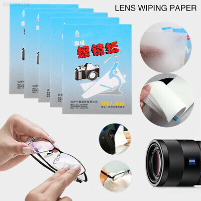6F8E 5 X 50 Sheets Wipes Cleaning Paper Camera Len SLR Tablet