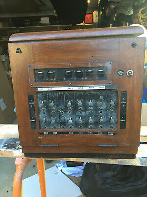 Antique PMG Telephone System