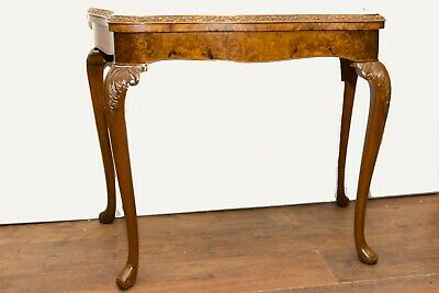Antique Games Table by Epstein and Co - Walnut Card Tables
