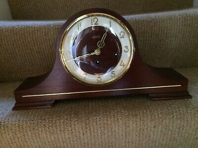HERMLE Wood fordmante clock floating pendulum table clock