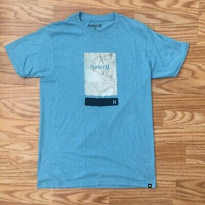 $28 NWT HURLEY MEN/'S GOOD TO GO GREY T-SHIRT TEE ** PICK YOUR SIZE **