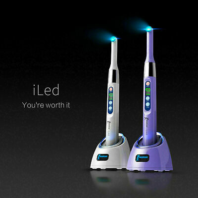 New Woodpecker i Led Dental Curing Light 1 Second Cure Lamp 3000mw/cm2