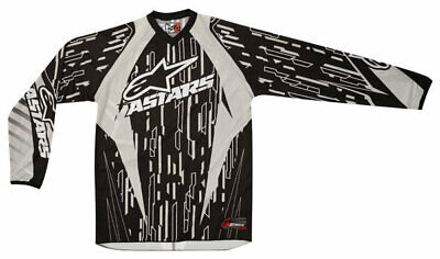 Alpinestars Charger Jersey Gry/Blk/Wht Motocross Mx Enduro Off Road Quad