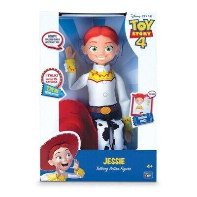 "Toy Story 4 Cowgirl Jessie Talking 14"" Doll Action Figure"