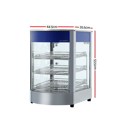 Commercial Food Warmer Hot Display Showcase