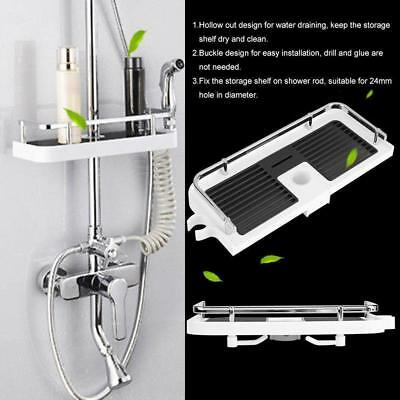 Bathroom Shelf Shower Storage Rack Holder Shampoo Bath Towel Tray Gift Sell