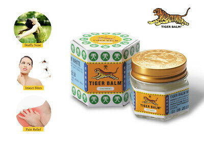 Tiger Balm Red Ointment for Muscle Pain Aches Relief Thai Herbal Massage Rub
