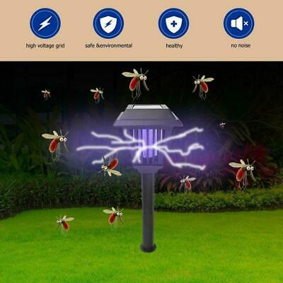 2LED Garten Rasen Solar Power Moskito Killer Licht Insekt Pest Bug Lampe 0.4W