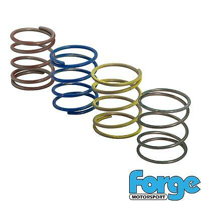Forge Motorsport Dump Blow Off Recirc Valve Spring Tuning Green Yellow Blue Red