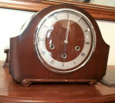 Vintage 1940s SMITHS ENFIELD Chiming Mantle Clock