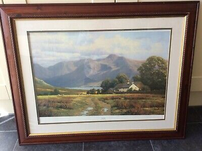 Large Framed Wall Picture September By Peter Symonds
