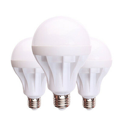 LED E27 7W 9W 12W 15W Emergency Light Bulb Intelligent Energy Saving Warm White