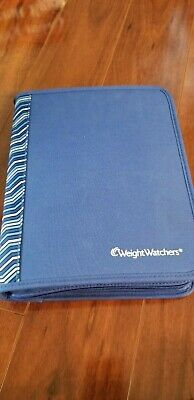 Weight Watchers PointsPlus 2012 Books Tracker Blue Case Notepad