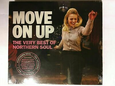 Move On Up The Very Best of Northern Soul CD NEW Sealed Marvin Gaye/Valli.. DD