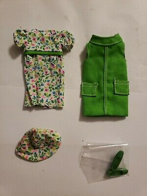 Vintage Barbie Skipper Doll Outfit # 1942 RIGHT IN STYLE  Clothing