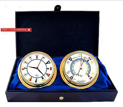 """Master-Mariner American Voyager Collection, Nautical Cabin Gift Set, 5.75"""" Dia"""