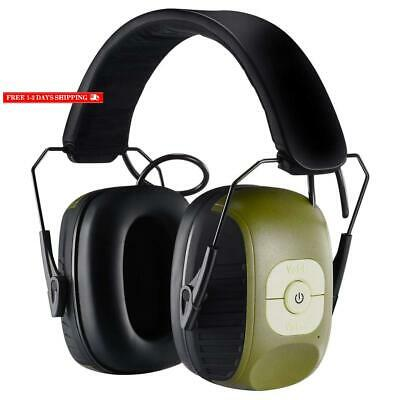 Homitt Electronic Noise Reduction Earmuff, Safety Hearing Protection Headphones