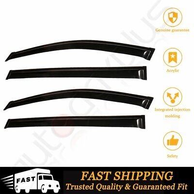 4x For 2004-2009 Toyota Sienna Window Visor Rain Guard Vent Sun Shade Deflector