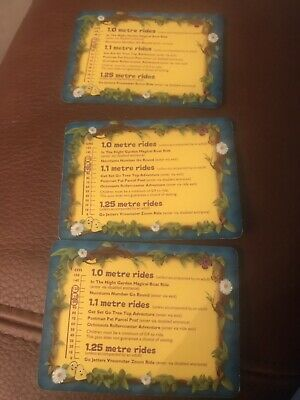 3x Alton Towers Cebeebies Priority Fast Track Passes