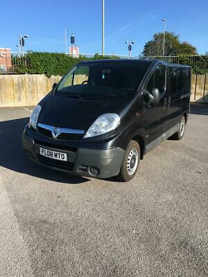 Vauxhall Vivaro  CDTI SWB - Twin Sliding Doors Tailgate ideal camper conversion