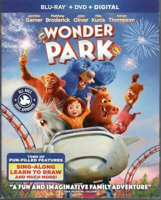 Wonder Park (Blu-Ray 2019) NEVER WATCHED BLU-RAY DISC ONLY W/ CASE + SLIPCOVER
