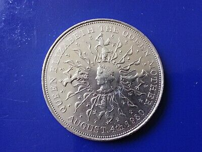 GB 1980 Queen Mother Commemorative Crown Coin