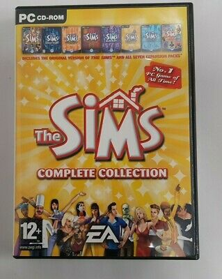 The Sims Complete Collection PC CD-ROM