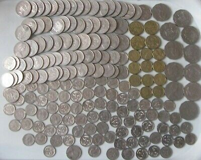 Australian Coins -Bulk Lot $2 to 5c. Holiday change-Decimal