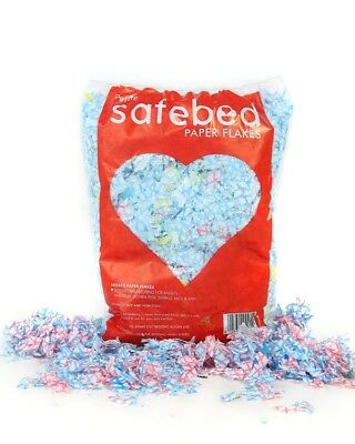 Safebed Flakes Carry Home Coloured J Cloths DAMAGED PACKAGING