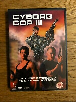 Cyborg Cop Iii Dvd Uk Release Sci Fi Action Post Atomic