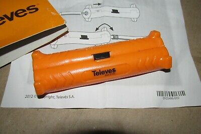 Televes 2162 Coax Cable Stripper For Stripping COAXIAL WIRE New Vat In