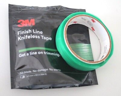 3M Finish Line Knifeless Tape - 50M Rollo X 3,5mm para Carwrapping y Grafiker