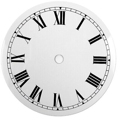 NEW White Replacement Clock Dial 5 inches 127mm Roman Numerals Clocks - CD45