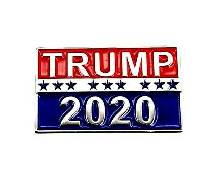 Trump 2020 Pin, Republican Party, Raised Letters--Buy 3, Get 4!-- Buy 5, Get 7!